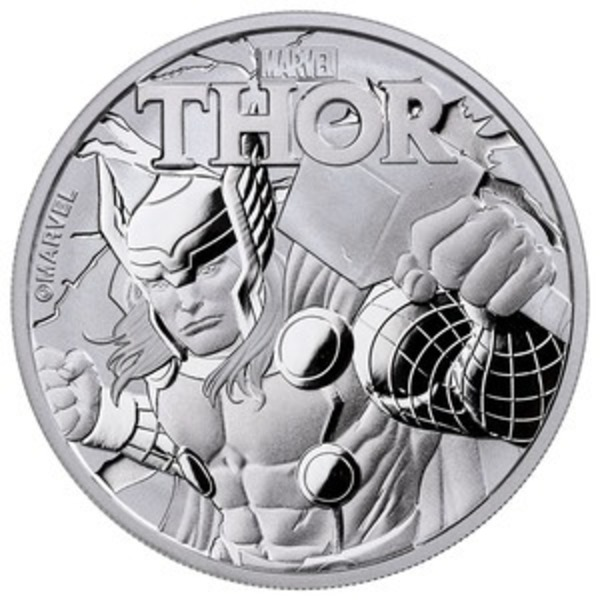 Buy 2018 Thor Marvel Silver Coin from Golden Eagle Coins