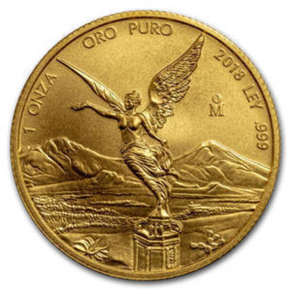 Compare 2018 Mexico 1 oz Gold Libertad prices