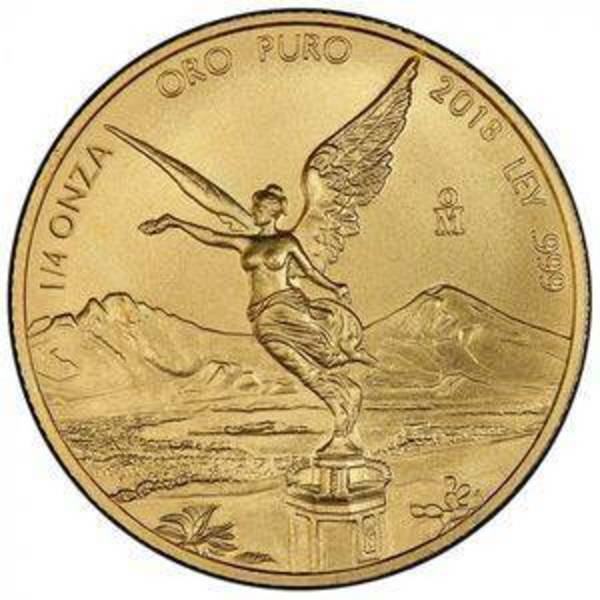 Compare 2018 Mexico 1/4 oz Gold Libertad prices