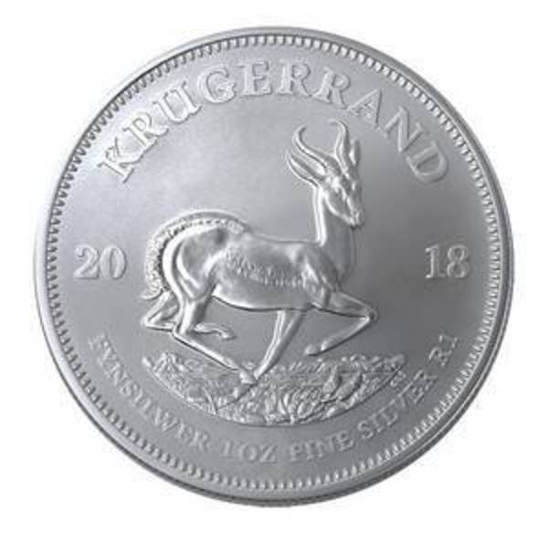 Compare silver prices of 2018 South African Silver Krugerrand