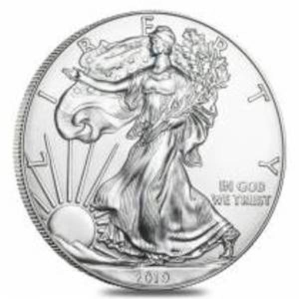 Compare silver prices of 2019 American Silver Eagle
