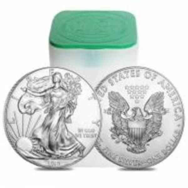 Compare cheapest prices of 2019 American Silver Eagle Roll of 20