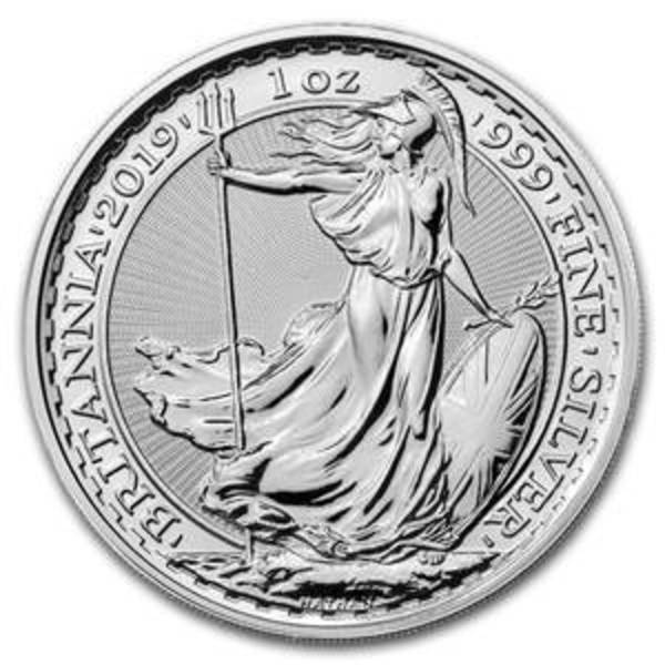 Compare silver prices of 2019 Britannia Silver 1 oz Coin