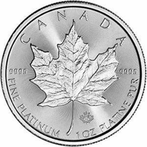 Compare platinum prices of Canada 1 oz Platinum Maple Leaf - Random Year