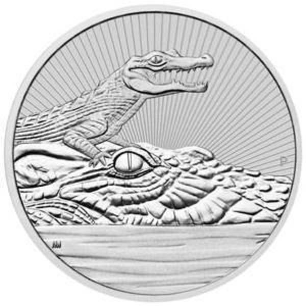Compare silver prices of 2019 Australia 10 oz Silver Piedfort Crocodile