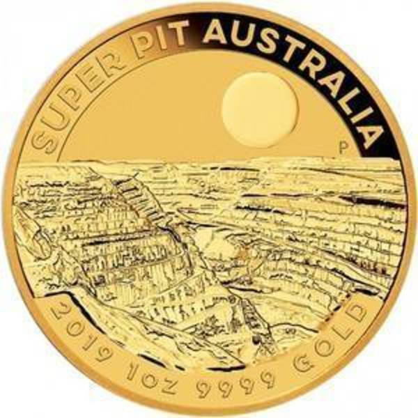 Compare gold prices of 2019 Australia 1 Oz Gold Super Pit