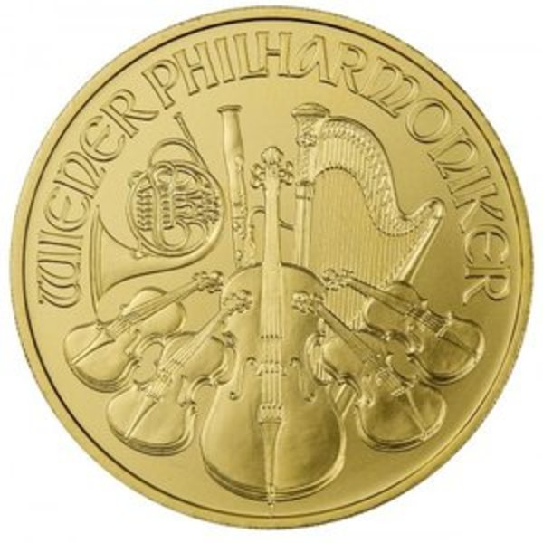 Compare 2019 1 oz Austrian Gold Philharmonic  prices