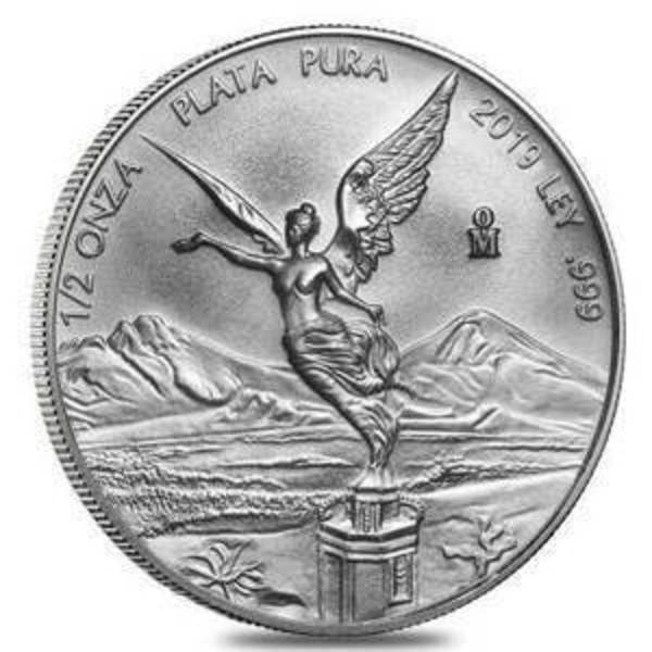 Compare 2019 Mexico 1/2 oz Silver Libertad prices