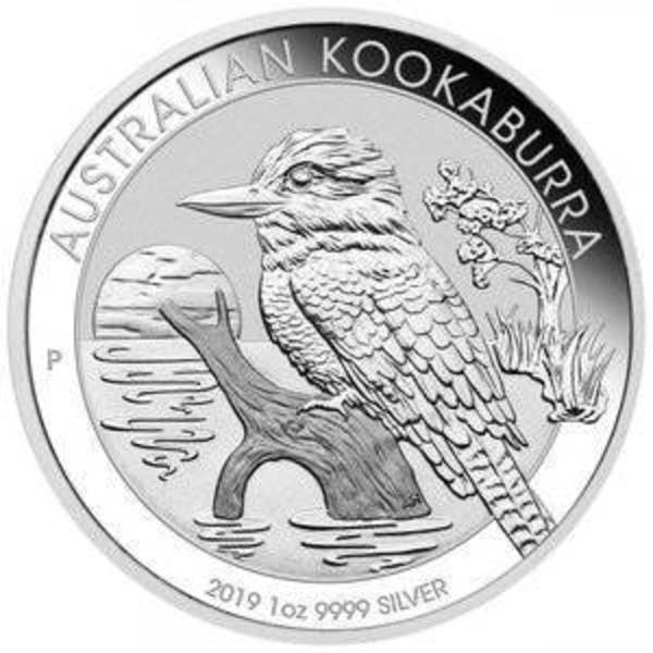 Compare silver prices of 2019 Australia 1 oz Silver Kookaburra $1 Coin