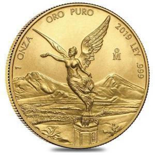 Compare 2019 1 oz Mexican Gold Libertad Coin .999 Fine prices
