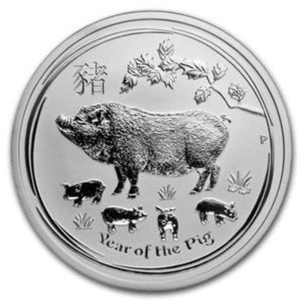 Compare cheapest prices of 2019 Australia 1 oz Silver Year of the Pig (Lunar Series II)