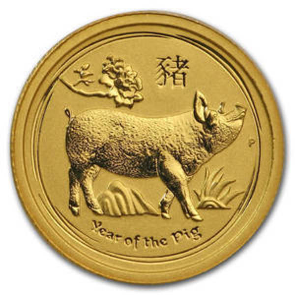 Compare Est Prices Of 2019 Australia 1 2 Oz Gold Lunar Pig
