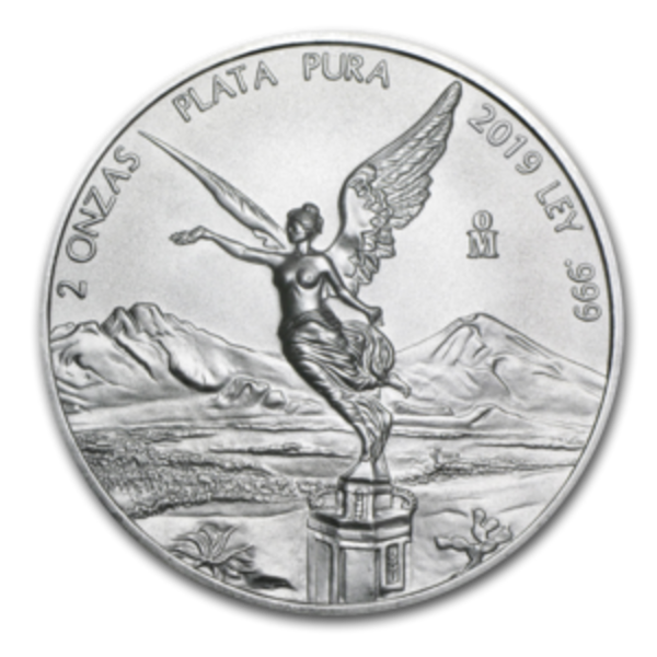 Compare 2019 Mexico 2 oz Silver Libertad prices