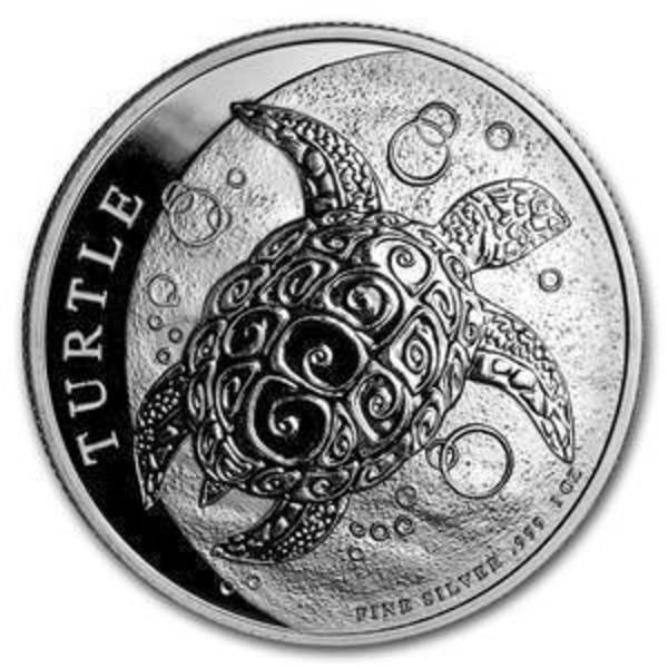 Compare silver prices of 2019 Niue 1 oz Silver $2 Hawksbill Turtle