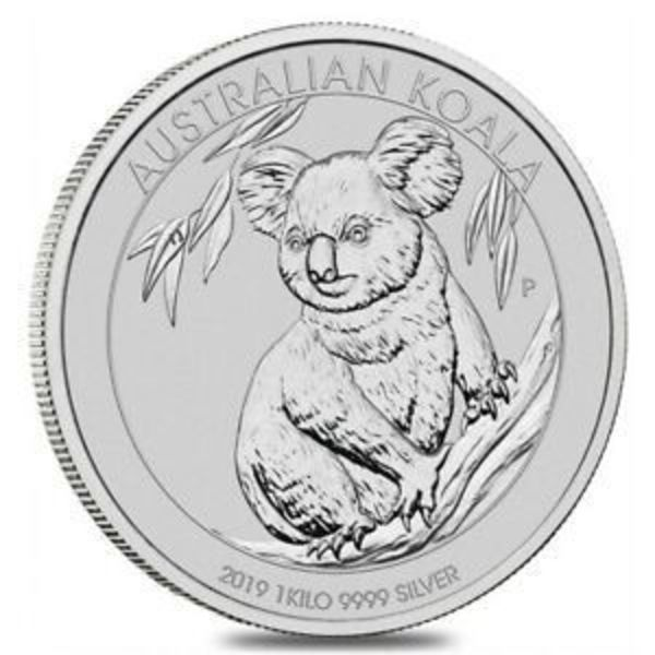 Compare silver prices of 2019 Perth Mint Koala Silver 1 Kilo