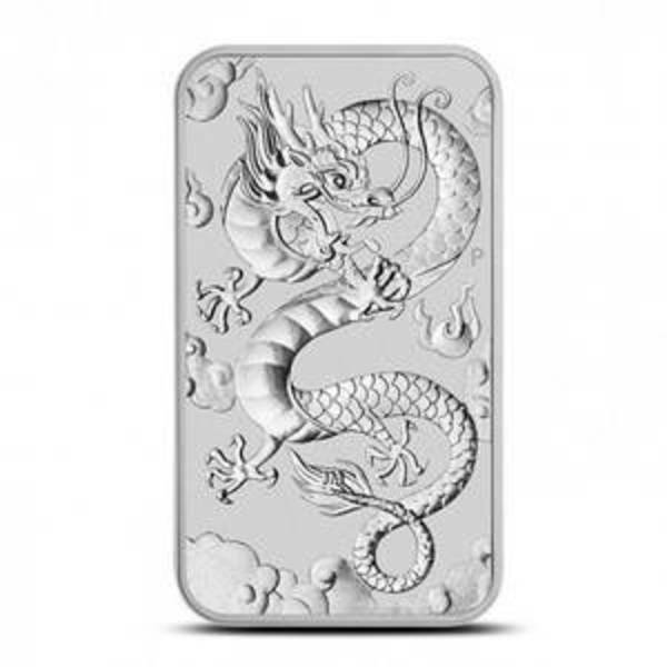 Compare silver prices of 2019 Australia 1 oz Silver Dragon Bar Coin