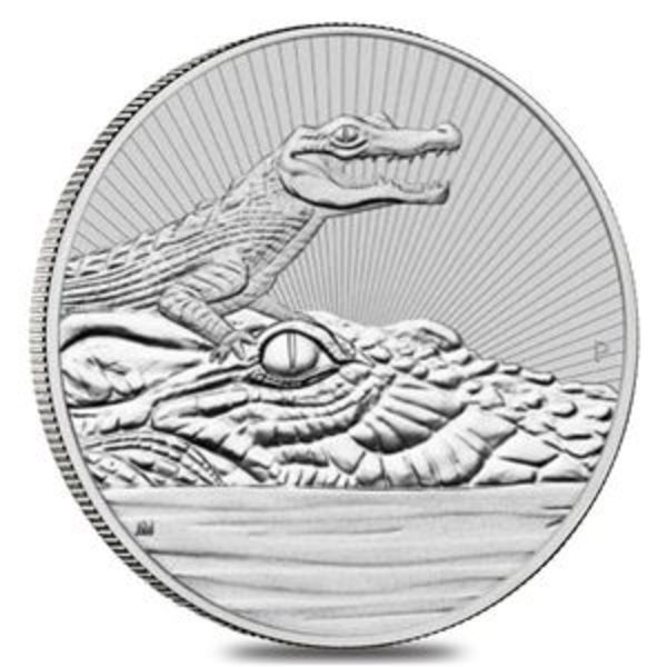 Compare silver prices of 2019 2 OZ SILVER PIEDFORT CROCODILE