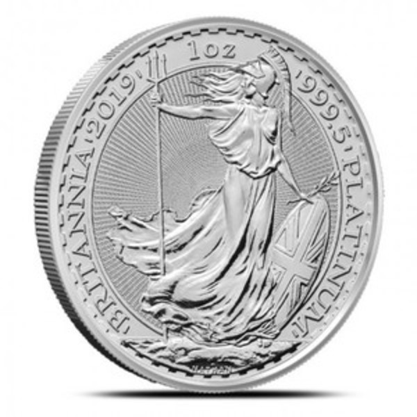 Compare platinum prices of 2019 British 1 oz Platinum Britannia