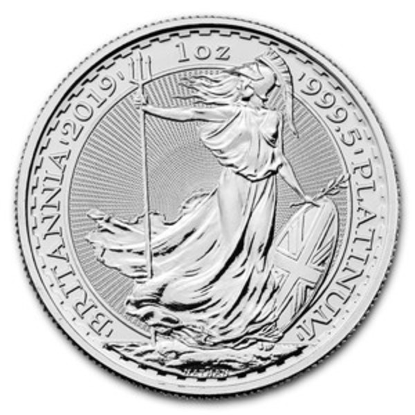 Compare platinum prices of 2020 Platinum Britannia 1 oz Coin