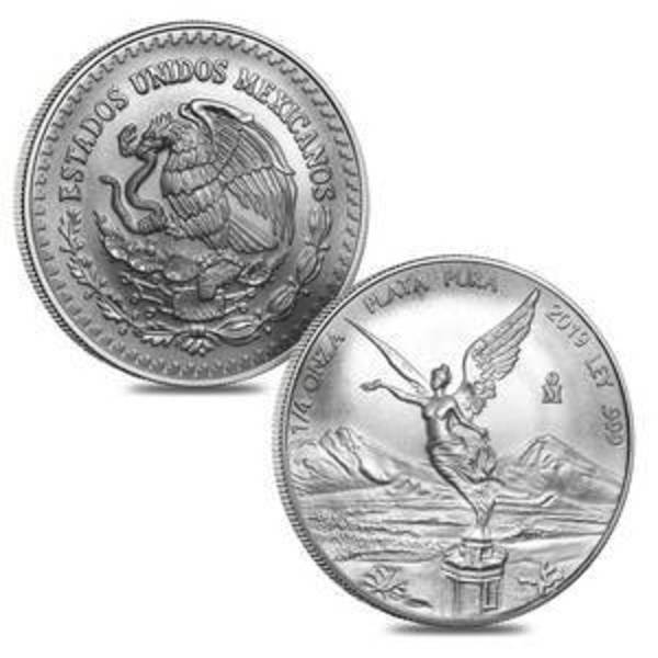 Compare 2019 Mexico 1/4 oz Silver Libertad prices