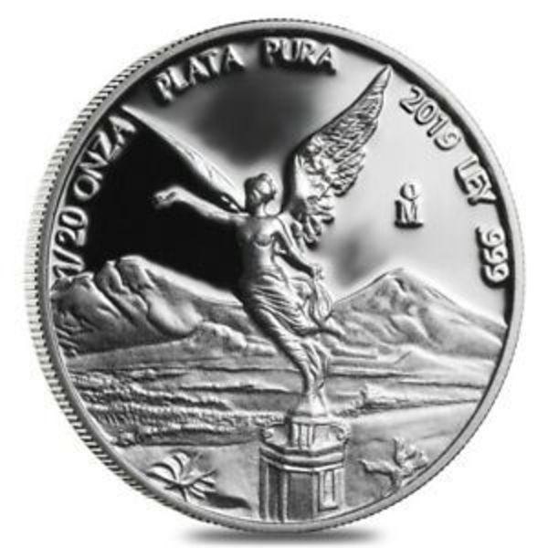 Compare silver prices of 2019 Mexico 1/20 oz Silver Libertad