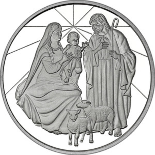 Compare silver prices of 2019 Nativity Scene Christmas 1 oz Silver Round