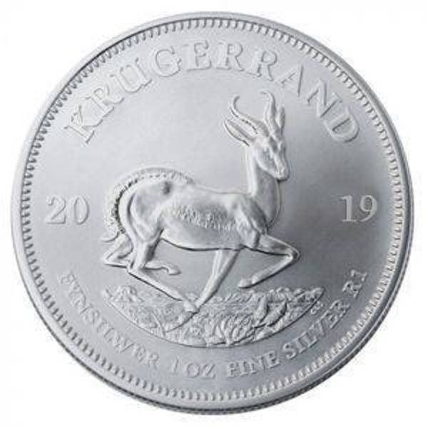 Compare silver prices of 2019 South African Silver 1 oz Krugerrand Coin