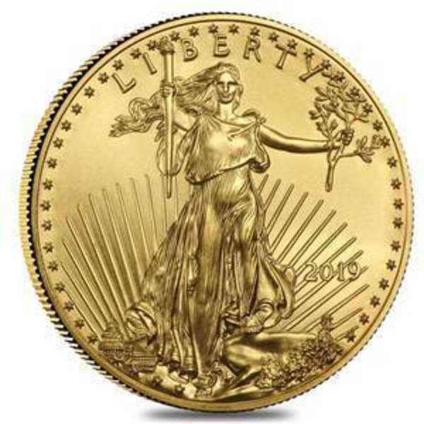 Compare gold prices of 2019 1/10 oz Gold American Eagle $5 Coin