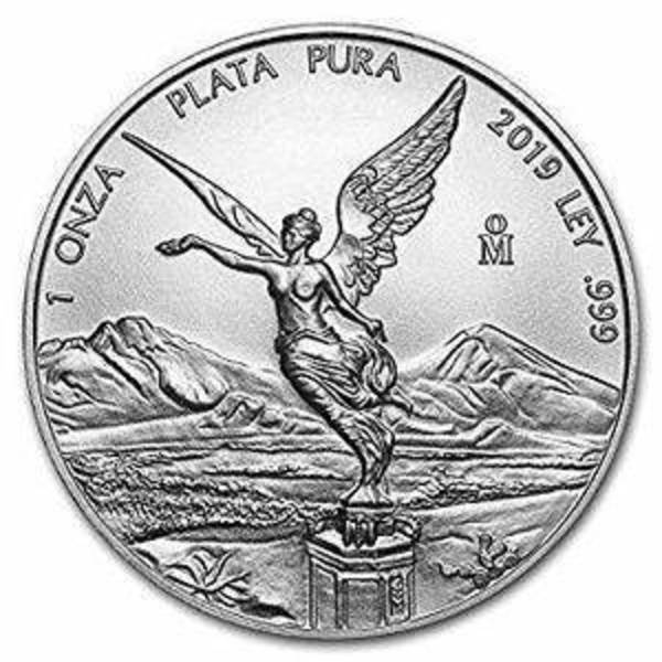 Compare 2019 Mexico 1/10 oz Silver Libertad prices