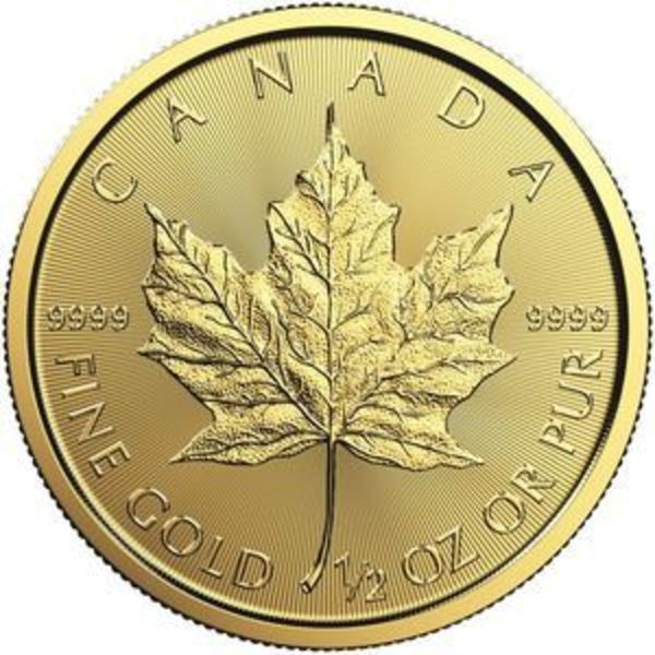 Compare cheapest prices of 2020 1/2 oz Canadian Gold Maple Leaf