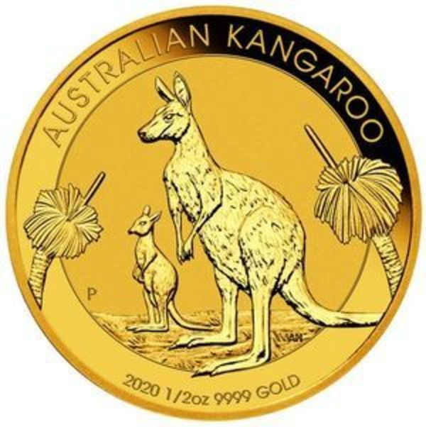 Compare gold prices of 2020 Australian Kangaroo 1/2 oz Gold Coin