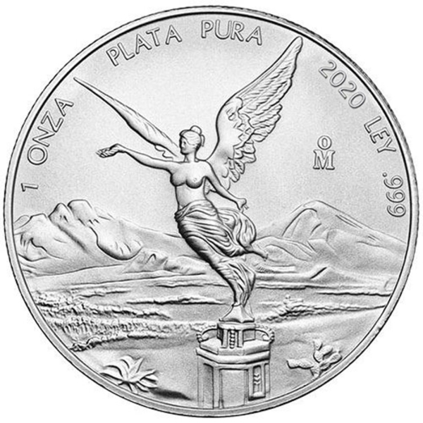 Compare silver prices of 2020 1 oz Mexican Silver Libertad Coin