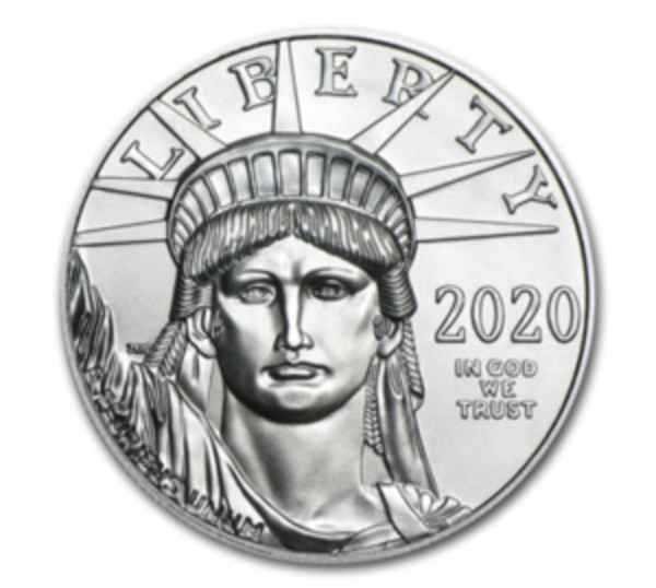 Compare platinum prices of 2020 Platinum 1 oz American Eagle