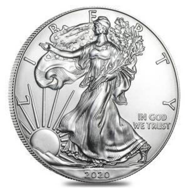 Compare silver prices of 2020 American Silver Eagle 1 oz Coins