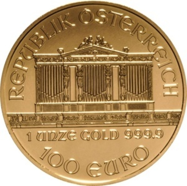 Compare gold prices of 2020 Austria 1 oz Gold Philharmonic Coin