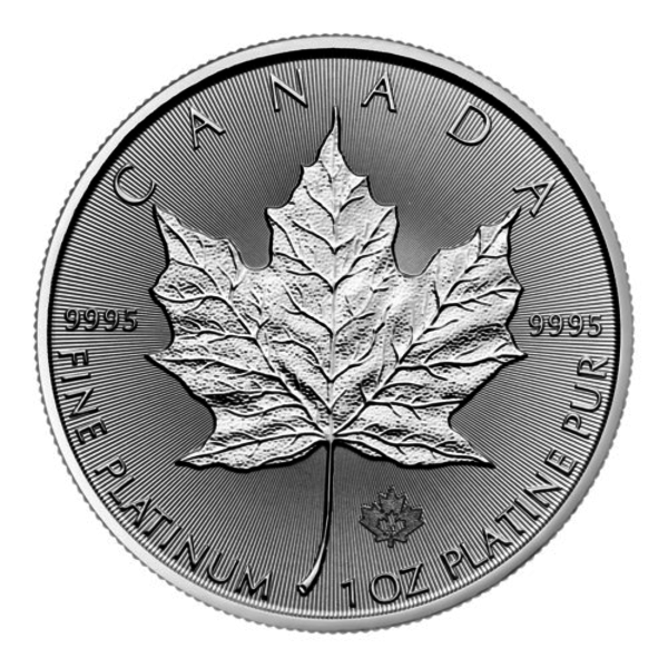 Compare platinum prices of 2020 Canadian Maple Leaf Platinum 1 oz Coin