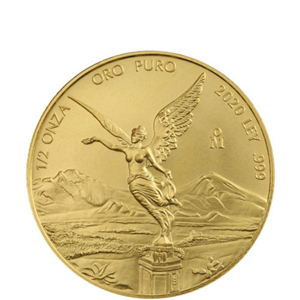 Compare gold prices of 2020 Mexican 1/2 oz Libertad Gold Coin