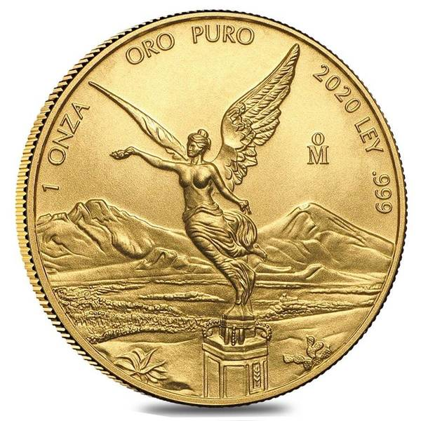 Compare gold prices of 2020 Mexican 1 oz Libertad Gold Coin