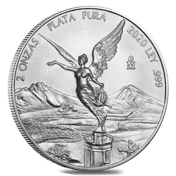 Compare silver prices of 2020 Mexico Libertad 2 oz Silver Coin
