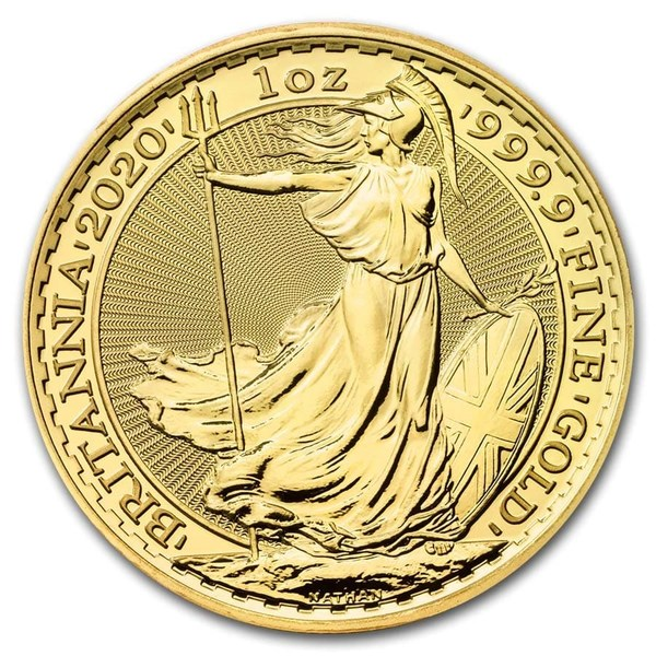 Compare 2020 British 1 oz Gold Britannia Coin prices
