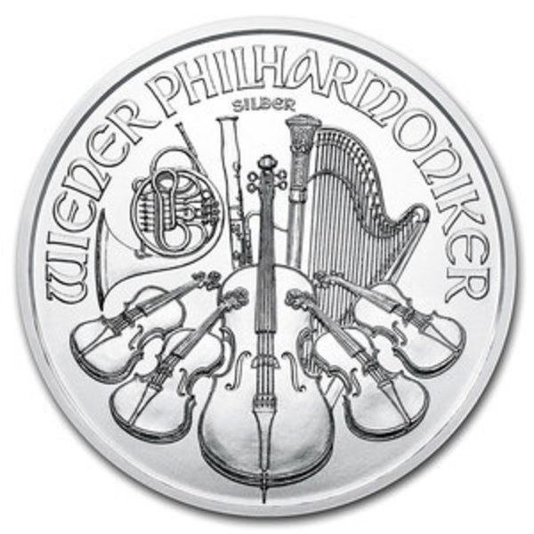 Compare silver prices of 2020 Austria Philharmonic 1 oz Silver Coin