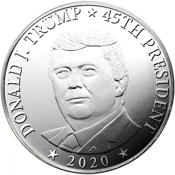 Compare cheapest prices of 2020 Donald Trump 1 oz Silver Round