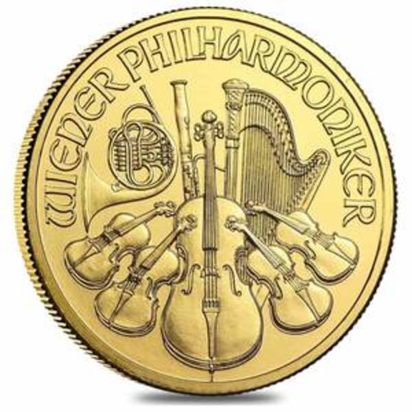Compare gold prices of 2021 Austrian Philharmonic 1 oz Gold Coin