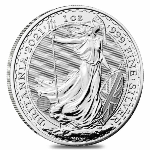 Compare silver prices of 2021 Great Britain Britannia 1 oz Silver Coin