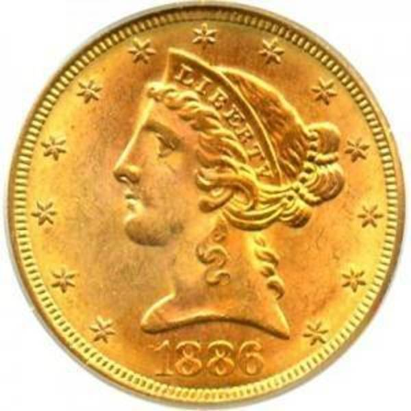 Compare gold prices of $5 Liberty Gold Half Eagle - Cleaned, Ex-Jewelry, Circulated