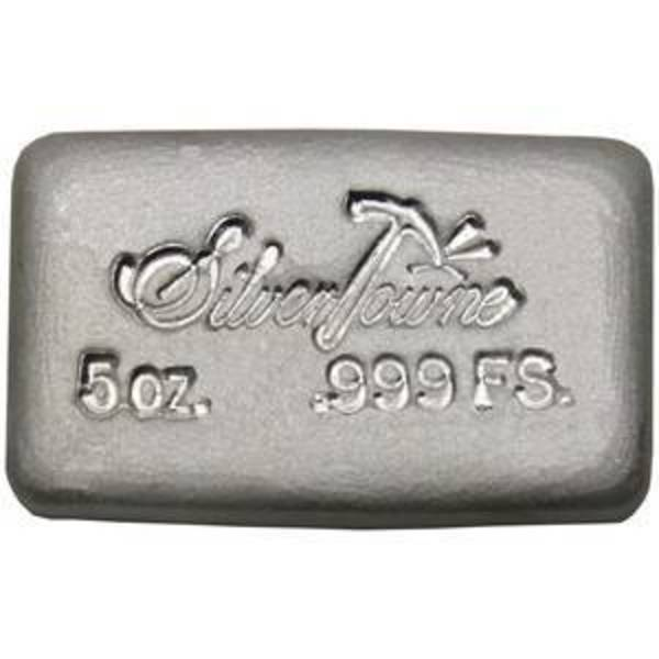 Compare cheapest prices of 5 oz SilverTowne Hand Poured .999 Fine Bullion Loaf Ingot