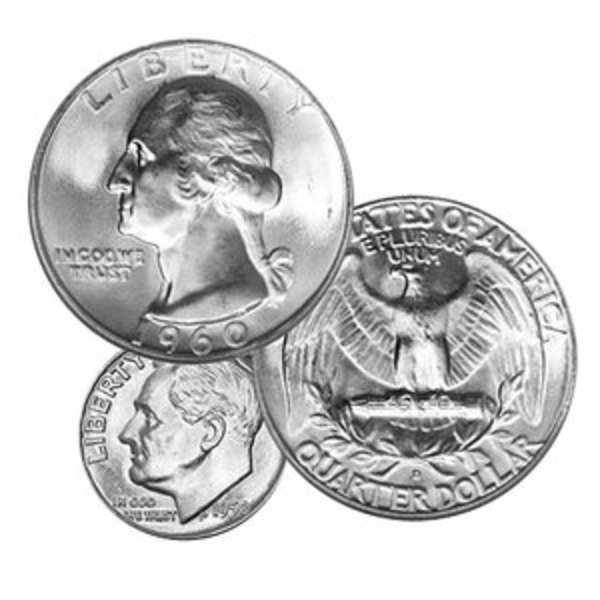 Compare silver prices of $1000 Face Value - 90% Circulated Silver Coins