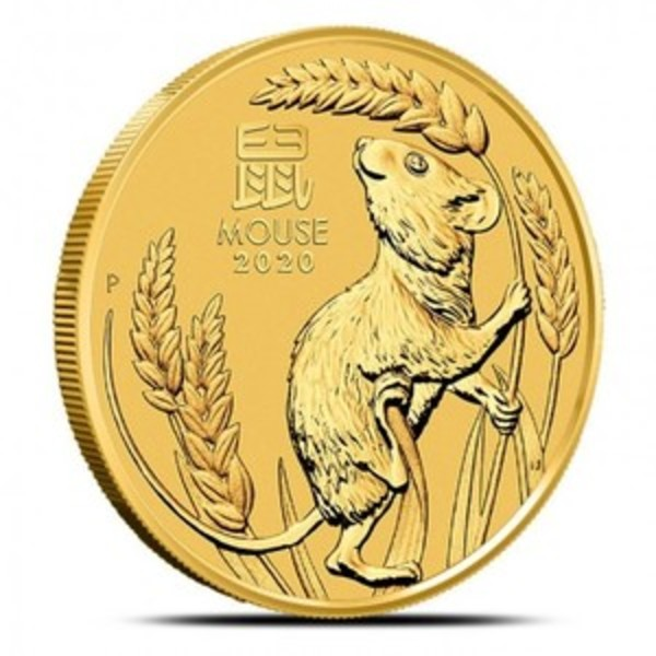 Compare gold prices of 2020 Australia 1/20 oz Gold Lunar Mouse
