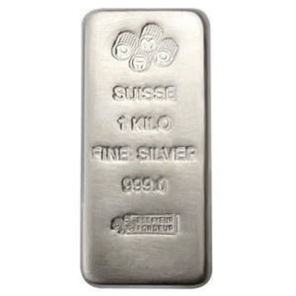 Compare silver prices of PAMP Suisse Kilo Cast Silver Bar - 32.15 Oz