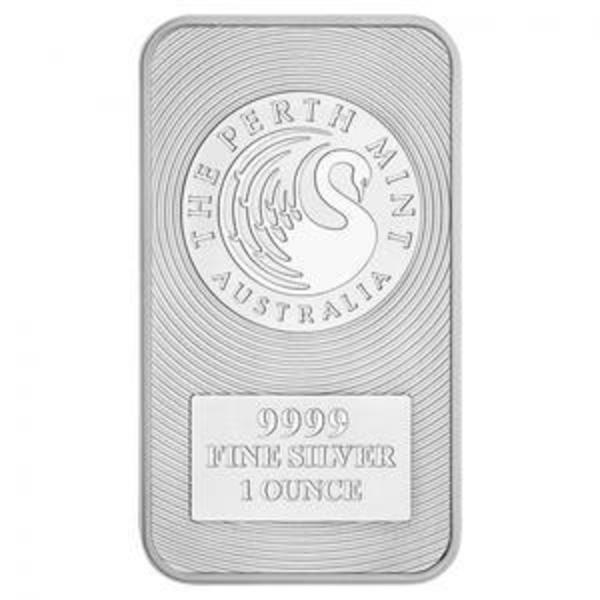 1 Oz Kangaroo Silver Bar Perth Mint Bars Buy Silver At The